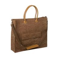 Umbrian Landscape Espresso Portfolio Tote Bag
