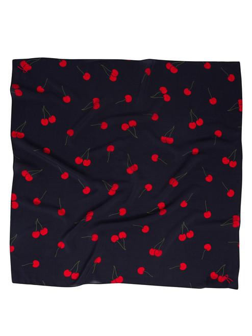 Handkerchief - Wild Cherry (flat)