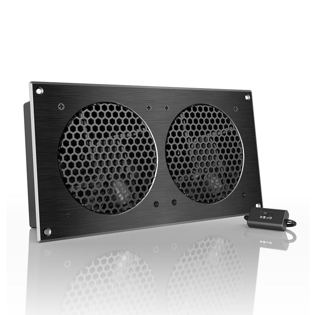 AIRPLATE S5, Home Theater and AV Quiet Cabinet Cooling Fan System ...