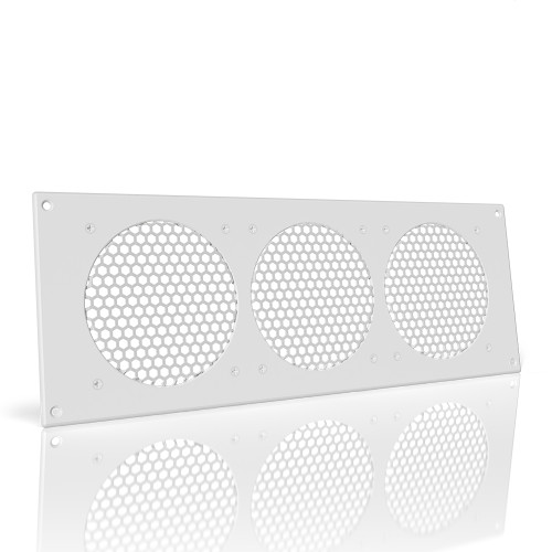 AC INFINITY, Cabinet Ventilation Grille White, 18 Inch