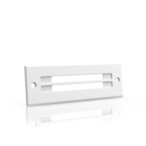 AC INFINITY, Cabinet Ventilation Grille White, 6 Inch Low-Profile