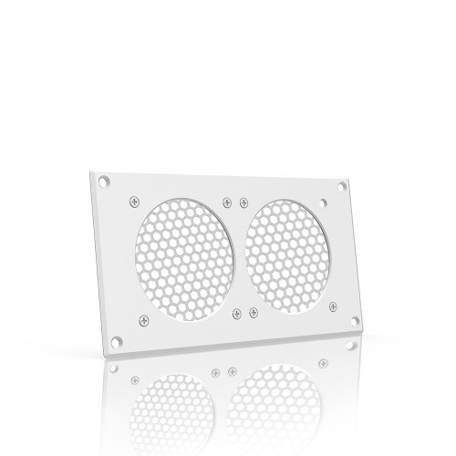 AC INFINITY, Cabinet Ventilation Grille White, 8 Inch