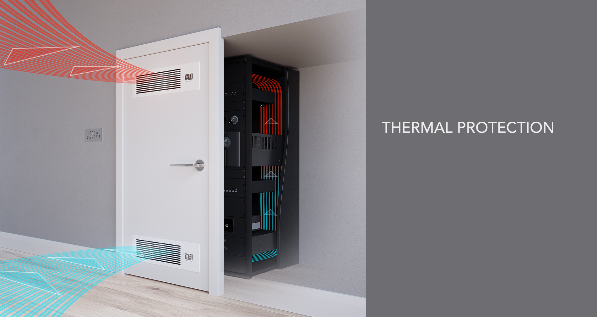 The AIRFRAME Closet Fan System Is Designed To Quietly Cool AV Components  And Equipment Stored In Closets, Rooms, And Large Enclosures.