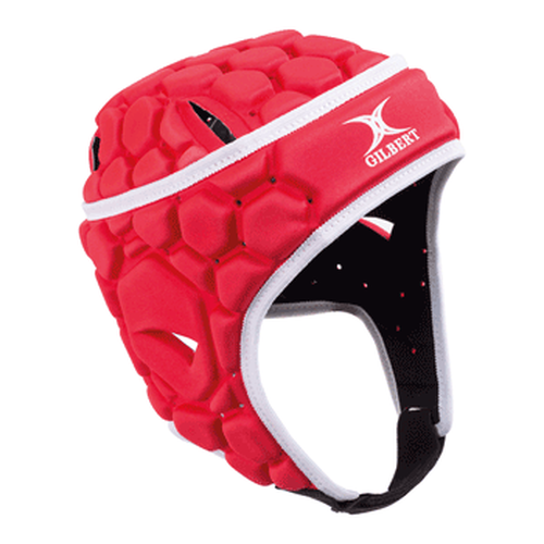 Gilbert Falcon 200 Rugby Headguard - Red