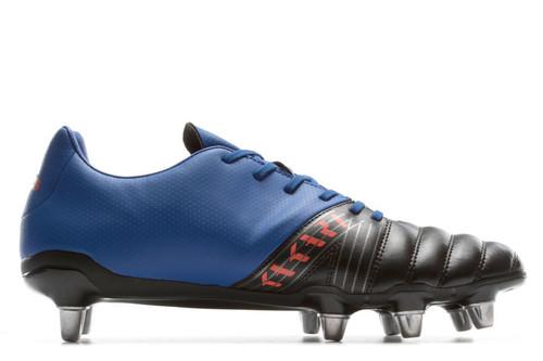 Adidas Kakari SG Rugby Boot - Black/College Royal