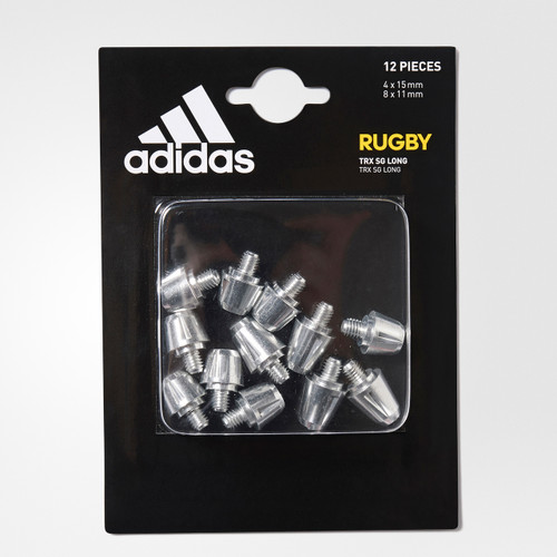 Adidas Soft Ground Long Rugby Studs - Aluminum