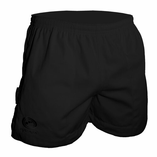 Optimum Sports Auckland Rugby Shorts -Black