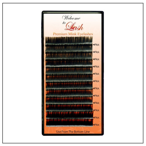 CC Curl Single Length Premium Mink Eyelash Extension Supplies - Welcome To Lash Supplies