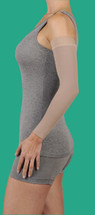 Juzo Dynamic Circular Knit Arm Sleeve with Silicone Border 20-30 or 30-40 mmHg