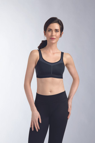 Ameona Power Medium Support Wire Free Sports Bra