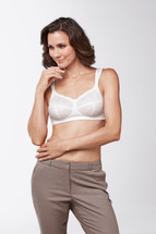 Carmen Pocketed soft cup Mastectomy Bra by Amoena