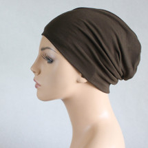 Dark Olive Green Casual Hat by Turban Diva