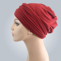 Brick Casual Hat by Turban Diva