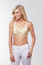 Ava Soft Cup Pocketed Mastectomy Bra by Ameona (available in White only)