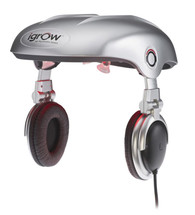iGrow Laser Hair Growth System The i laser hair therapy system has a handsfree Full Scalp Coverage design. The iGrow proprietary dual light Laser/LED design provides an effective and convenient hair rejuvenation treatment. The design are high quality headphones with and iPod/MP3 interface that enables the user to relax and listen to music while experiencing the benefits of the iGrow laser hair rejuvenation system.
