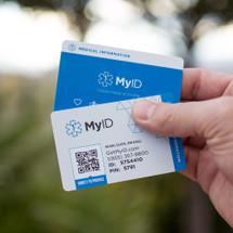 MyID Wallet Card by ENDEVR - Medical ID Card