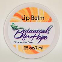 Botanicals for Hope lip balm