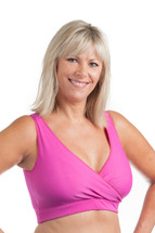 WearEase Sydney Activity Mastectomy Bra in pink.