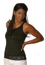 WearEase Alicia Camisole in black