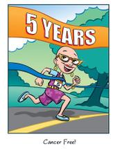 Cancer Girl, LLC -  5 Year Cancer Free Anniversary Card