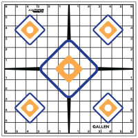 EZ Aim Sight Grid Target 12x12 Inch Twelve Per Package - 026509152033