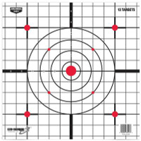 Eze-Scorer Sight-In Paper Target 12 Inch 13 Per Packge - 029057372137