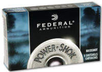 Power-Shok 20 Gauge 2.75 Inch 1200 FPS 20 Pellets 3 Buck - 029465009830