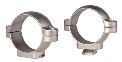 1 Inch Rings Standard Medium Silver - 030317499020