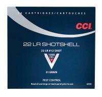 .22 Long Rifle Shotshell 31 Grain Number 12 Shot - 076683000392