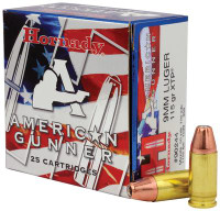 American Gunner 9mm Luger 115 Grain XTP - 090255902440