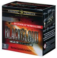 Premium Black Cloud FS Steel 12 Gauge 3 Inch 1350 FPS 1 Ounce 4 Shot - 604544623369