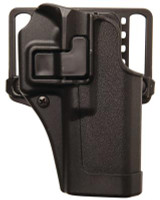 SERPA CQC Concealment Holster for Smith & Wesson M&P Shield Matte Finish Black Right Hand - 648018219764