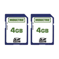 Moultrie 4GB SD Card (2 Pack) - 053695132501