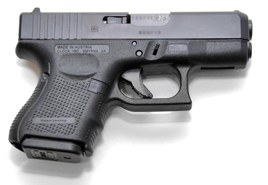 Glock 27 Gen 4 40 S W 9rd Pistol Hunter S Refuge