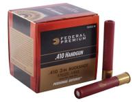 "Federal PB413JGE 3"" 410ga Buckshot Shells - (20/box) - 029465027582"