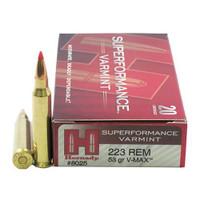 Hornady 8025 223 Rem 53gr V-Max Superformance Bullets - (20/box) - 090255380255
