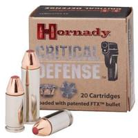 Hornady 90700 Critical Defense 44 Special 165gr - (20/box) - 090255907001
