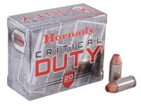 Hornady 91376 40 S&W 175gr FlexLock Critical DUTY Bullets - (20/box) - 090255913767