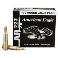 Federal AE223BL American Eagle 223 Rem 55gr FMJ Bullets - (100/box) - 029465062484