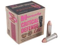 Hornady 90240 Critical Defense Lite 9mm Luger 100gr Bullets - (25/box) - 090255902402