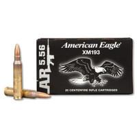 Federal XM193 55gr 5.56X45mm Bullets - (20/box) - 029465065119