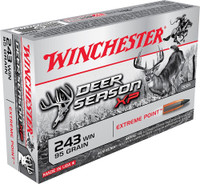 Winchester X243DS 95gr 243WIN Bullets - (20/box) - 020892221475