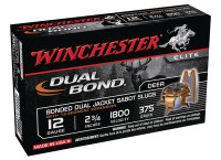 Dual Bond Fully Rifled Slug 12 Gauge 2.75 Inch 1800 FPS 375 Grain - 020892019362
