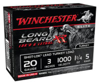 Long Beard XR 20 Gauge 3 Inch 1000 FPS 1.25 Ounce 5 Shot - 020892023741