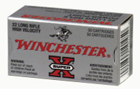Super-X .22 Long Rifle 40 Grain Plated Power-Point 100 Per Box - 020892101944