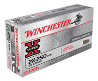 Super-X .22-250 Remington 55 Grain Pointed Soft Point - 020892200029