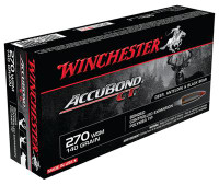 AccuBond CT .270 Winchester Short Magnum 140 Grain - 020892214323