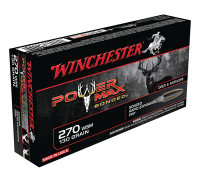 Power-Max .270 Winchester 130 Grain Protected Hollow Point Bonded - 020892217959