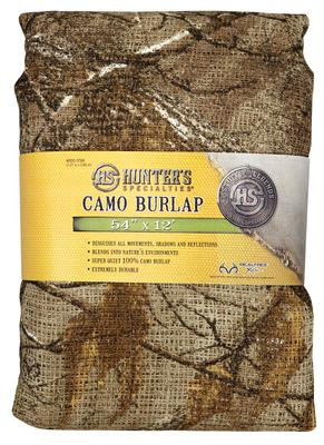 Packaged Burlap Cover Realtree Xtra Camouflage 54 Inches x 12 Feet - 021291073399
