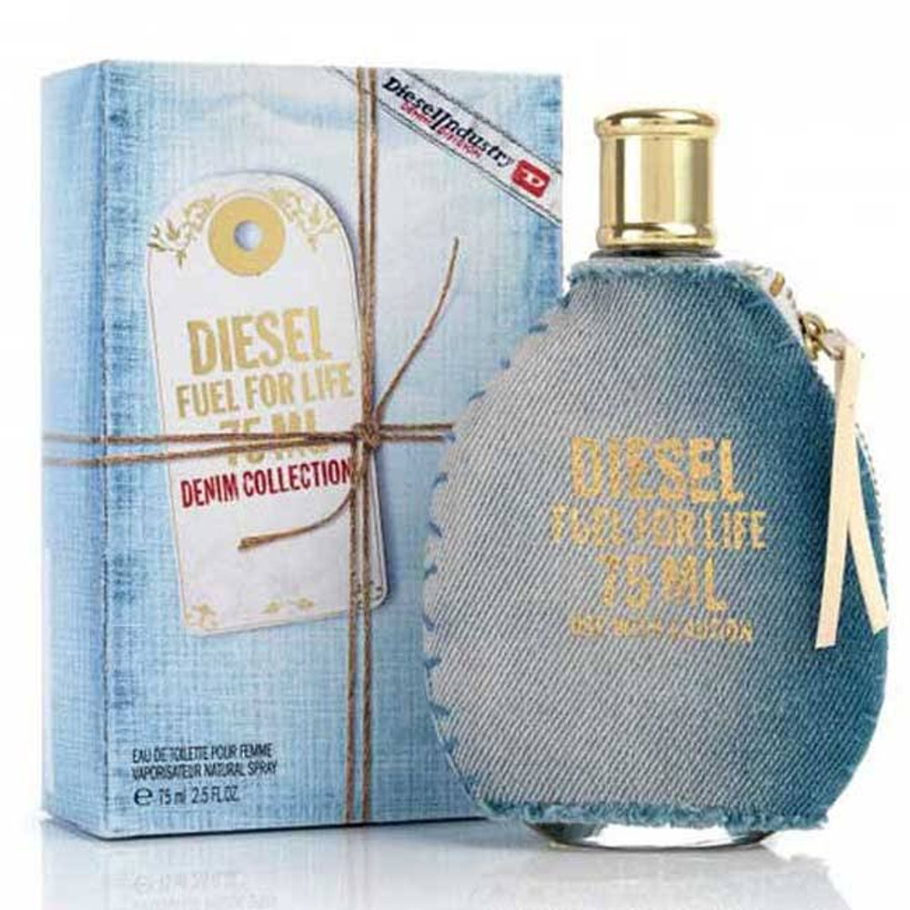 Diesel Fuel for Life Denim by Diesel 2.5 oz EDT for Women